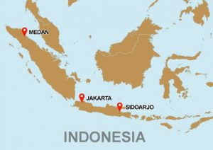 Office location indonesia